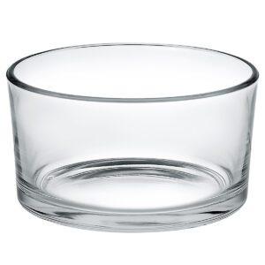 Glazen kom rond 9 cm