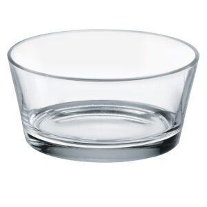 Glazen kom rond 11.5 cm