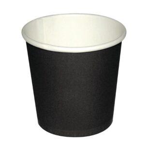 Fiesta disposable espressobekers zwart 12cl