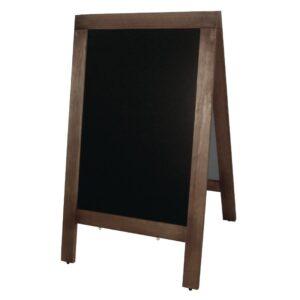 Olympia houten stoepbord 120x70cm
