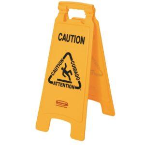 Rubbermaid meertalig waarschuwingsbord natte vloer