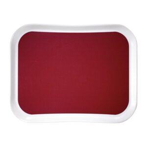 Cambro Versa Lite Century Fun polyester dienblad rood 43cm