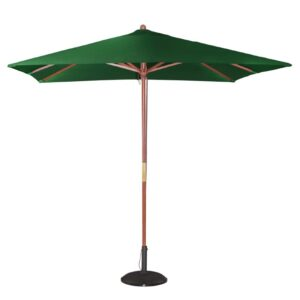Bolero vierkante groene parasol 2,5 meter