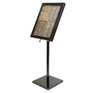 Securit LED info display zwart