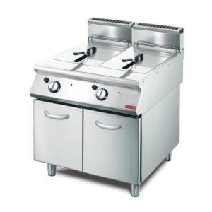 Gastro M 700 gas friteuse 2x 13L 70/80 FRG
