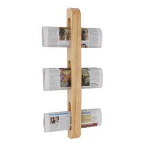 Olympia houten tijdschriften- en krantenrek