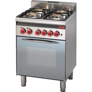 Gastro M 600 gasfornuis 60/60 CFG