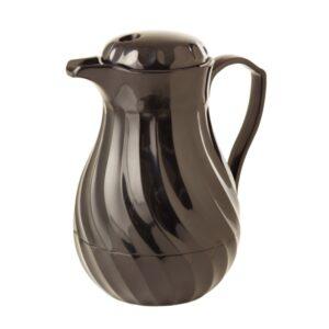 Kinox koffie isoleerkan zwart 1L