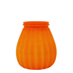 65-uurs terraskaars kunststof oranje