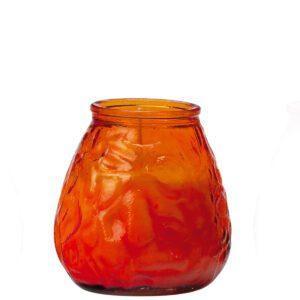 70-uurs terraskaars glas oranje