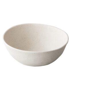 Pebble cream organisch kom 20,5 cm