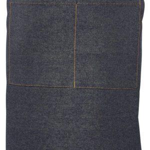 Taille schort spijkerstof donkerblauw 90 x 70 cm