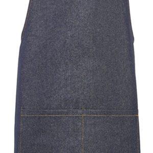 Slabschort spijkerstof donkerblauw 70 x 90 cm