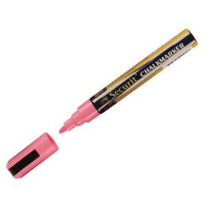 Securit wisbare krijtstift 6mm roze