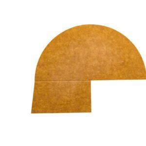 3-vaks papieren deksel verdeler 500 ml 250 st