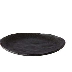 Bord Oyster zwart 21cm