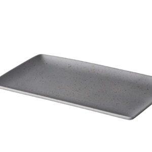 Tinto bord mat grijs 19 x 33,5cm