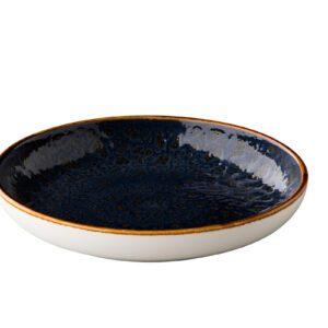 Jersey diep rond bord blauw 26.5 cm
