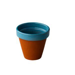 Stoneheart pot 8,5 x 7,5 cm blauw