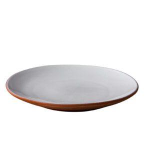 Stoneheart bord 20 x 2 cm wit