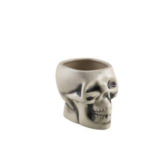 Tiki skull mok wit 400 ml