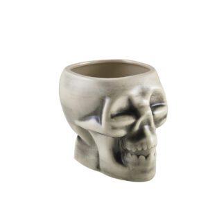 Tiki skull mok wit 800 ml