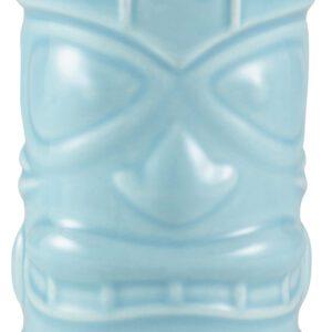 Tiki beker blauw 400 ml