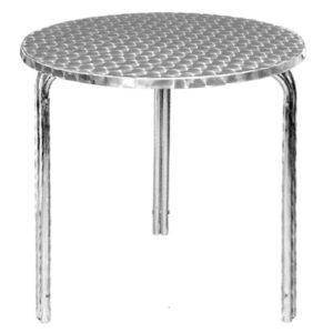 Bolero ronde stapelbare RVS tafel 60cm