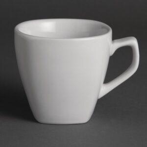 Olympia Whiteware vierkante koffiekop 20cl