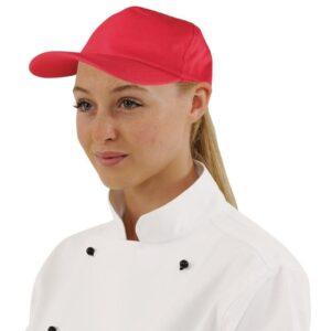 Whites baseball cap rood