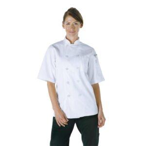 Chef Works Volnay uniseks koksbuis wit XS