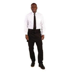 Whites korte sloof zwart