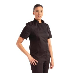 Chef Works Springfield dames koksbuis zwart XXL
