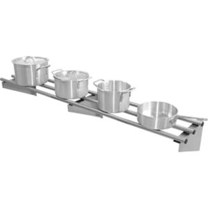 Vogue RVS wandplank 150cm