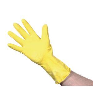 Jantex huishoudhandschoenen geel M