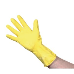 Jantex huishoudhandschoenen geel S