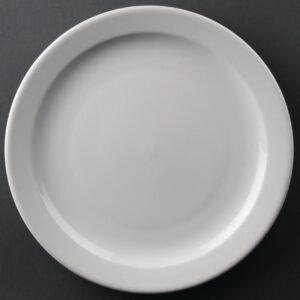 Athena Hotelware borden met smalle rand 25,4cm