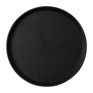 Roltex Blackline antislipdienblad zwart 31cm