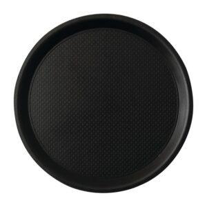 Roltex Blackline antislipdienblad zwart 38cm