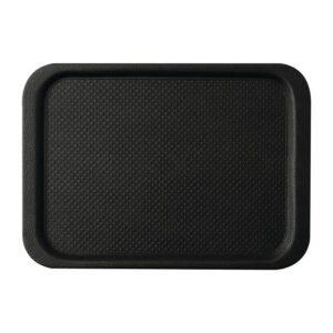 Roltex Blackline antislipdienblad zwart 49x34cm