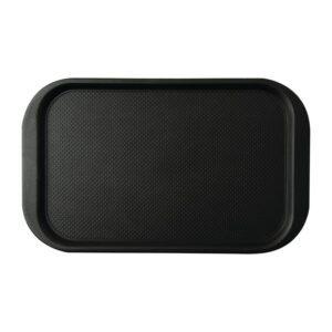 Roltex Blackline antislipdienblad zwart 63x39cm