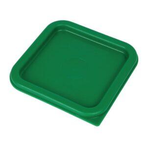 Cambro Camsquare deksel voor voedseldoos groen