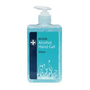 Handgel pompje 70% alcohol – 500ml