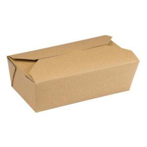Colpac rechthoekige voedseldoosjes (250 stuks)