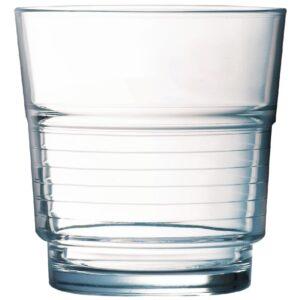 Arcoroc spiraalvormige glazen 25cl