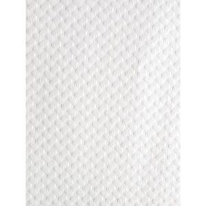 Papieren tafelkleed glanzend wit