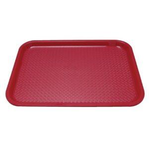 Kristallon dienblad rood 34,5×26,5cm