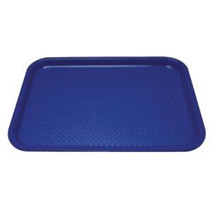 Kristallon dienblad blauw 34,5×26,5cm