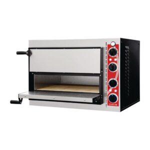 Gastro M Pisa pizzaoven met 2 kamers