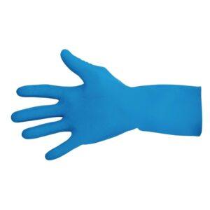 MAPA Vital 165 waterdichte handschoenen voor voedselbereiding blauw – L (1 paar)